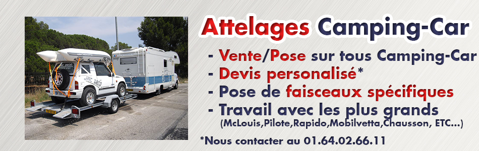 Attelages Camping-car